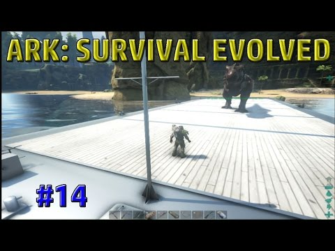 """Gigantic Dino Barge!"" ARK Survival Evolved The Center Map Expansion Episode 14 PC Gameplay 60 fps"