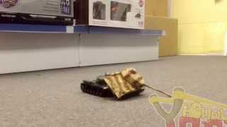 Радиоуправляемый танковый бой HQ529(http://ypapa.ru/hq-529.html Обзор радиоуправляемого танкового боя HQ529 1:48 Небольшой по размеру (длина танков 16 см, со..., 2014-01-28T16:34:38.000Z)