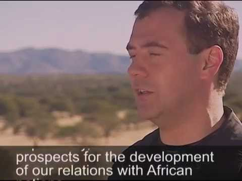Results of Trip to Africa (Egypt, Nigeria, Namibia, Angola). New Video on Dmitry Medvedev's Blog