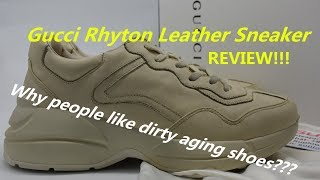 88c99e90b0b Gucci Rhyton Leather Sneakers - Youtube Downloader Free - M4ufree.com