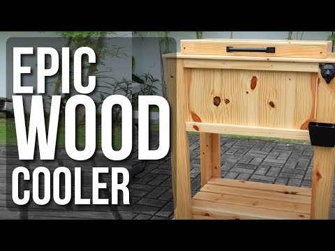 DIY Wood Cooler Project
