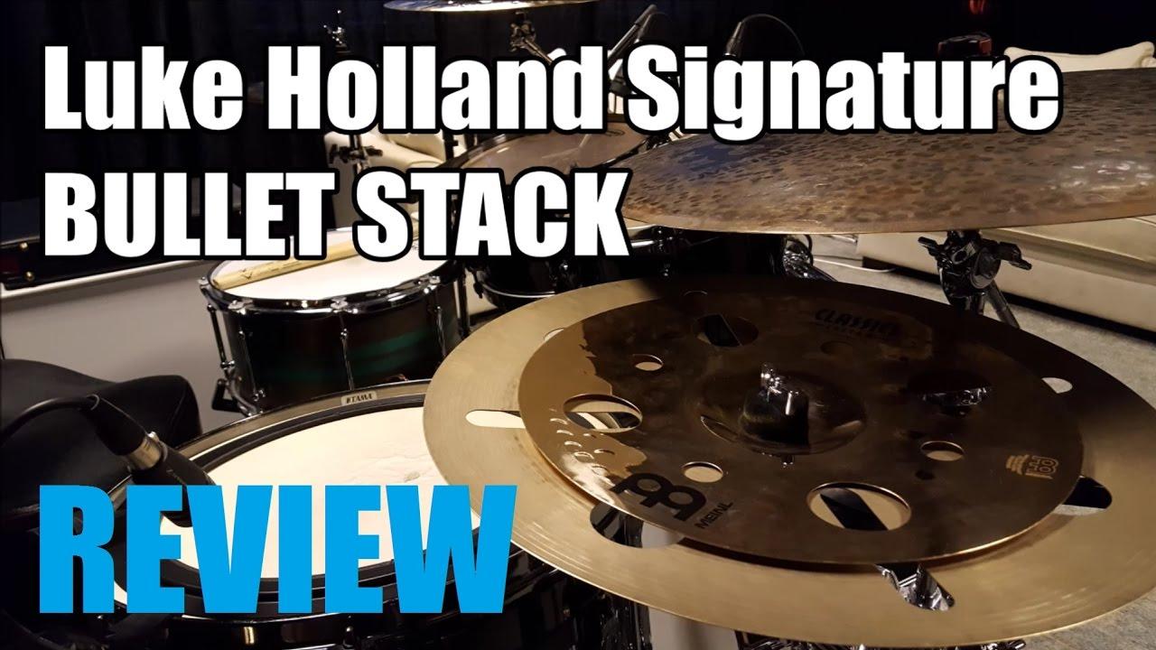 Meinl Luke Holland 16 Bullet Stack Review Demo