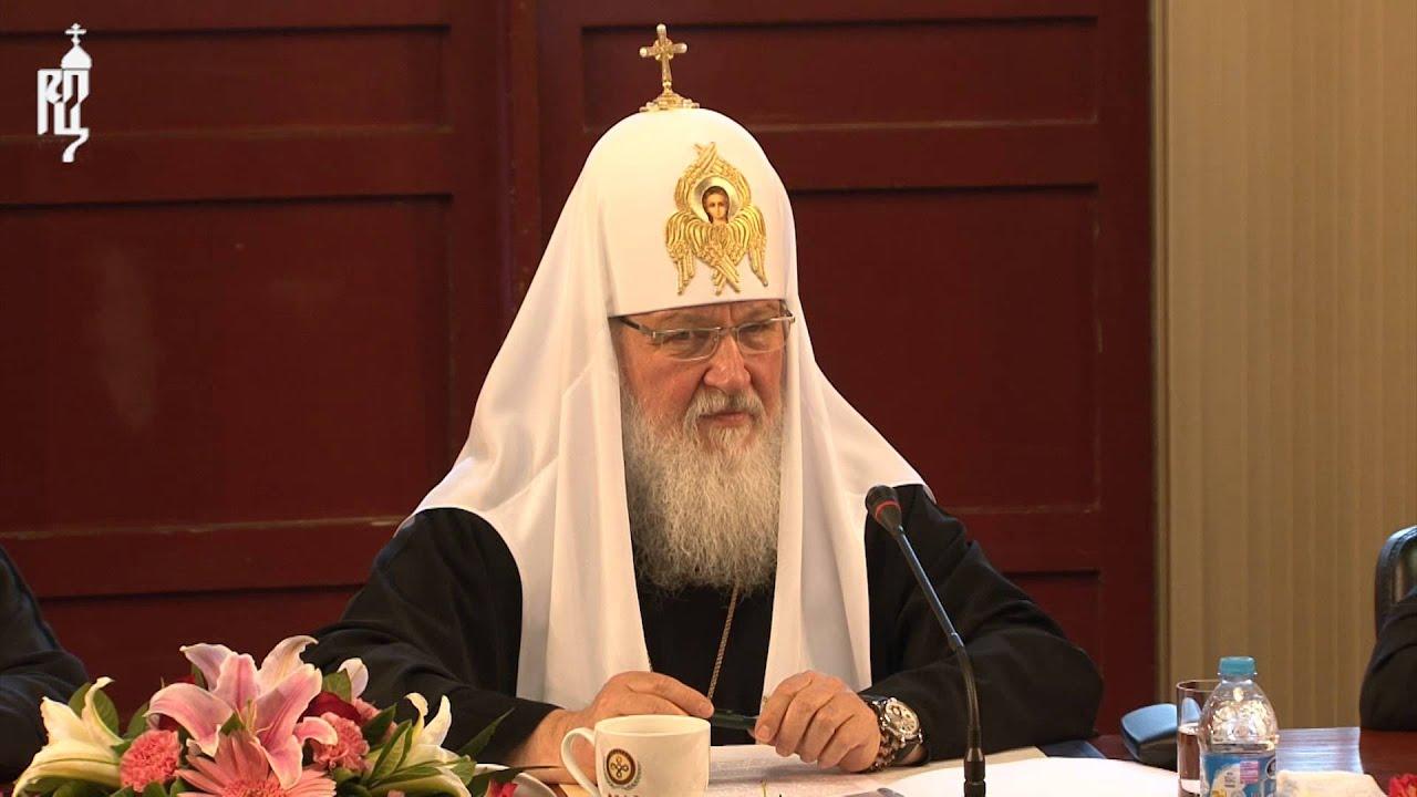 Патриарх Кирилл встретился с религиозными деятелями Китая