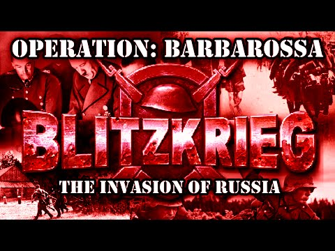 "Blitzkrieg. USSR Campaign. Mission 3 ""The Invasion of Russia"""