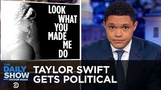 Kanye West and Taylor Swift Pick Political Sides | The Daily Show