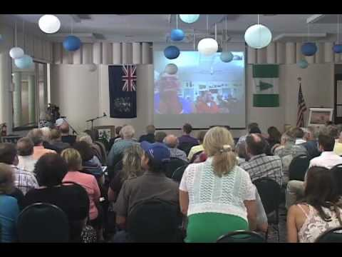 Video chat with Meralda Warren on Pitcairn Island