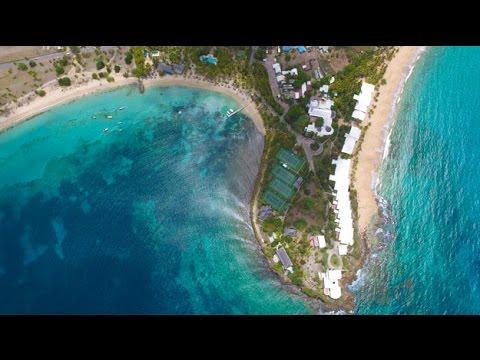 Curtain Bluff Antigua 2015 - YouTube