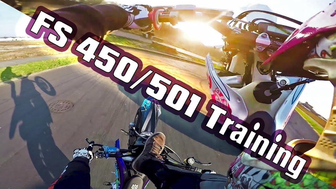 HUSQVARNA FUN DAY - FS 450 & 501 Training - YouTube