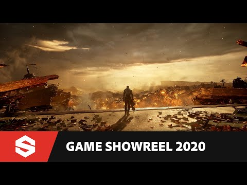 Substance in Games Showreel 2020