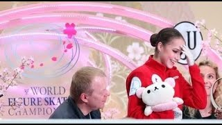 ALINA ZAGITOVA Short program Worlds19 Fuji tv Rus En sub ЧМ 2019 Перевод комментариев японцев