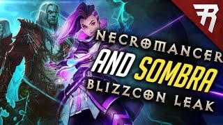 Sombra and Diablo Necromancer Leak - Blizzcon 2016 (Overwatch & Diablo)