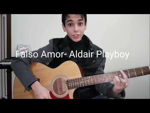 Amor Falso - Aldair Playboy por Guilherme Porto   Cover