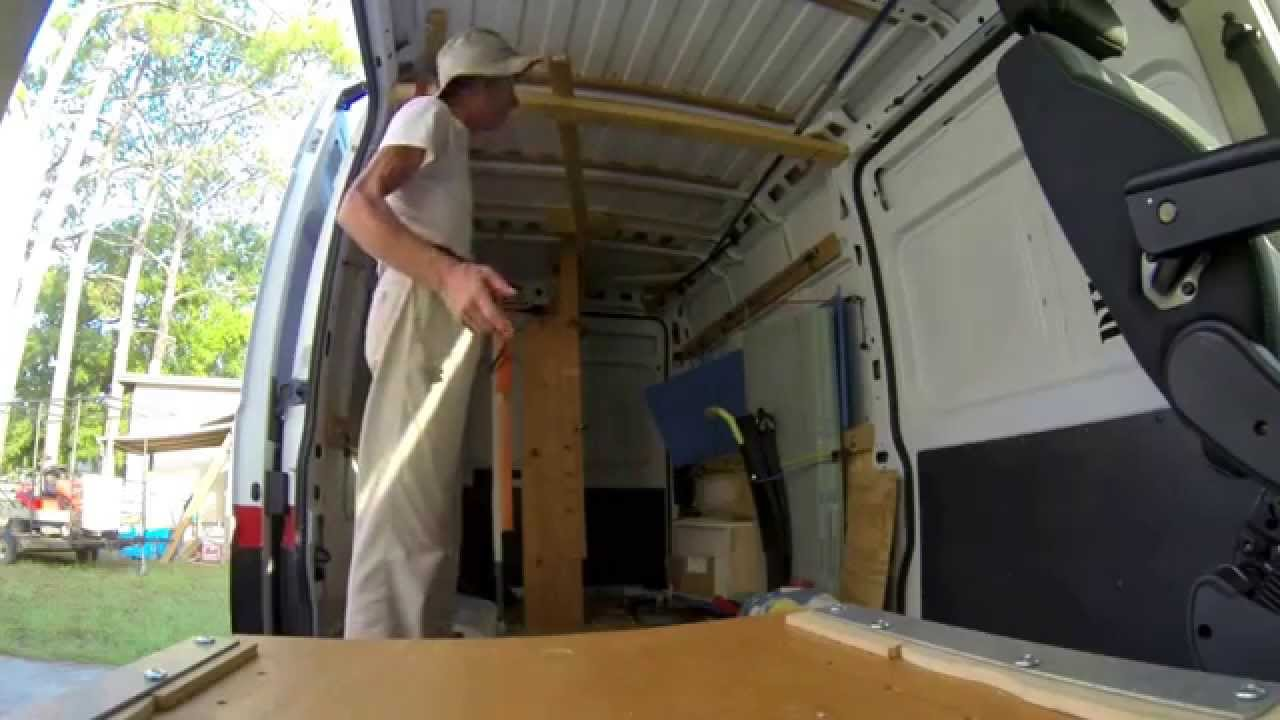 Ram Promaster Before Ceiling Insulation Youtube