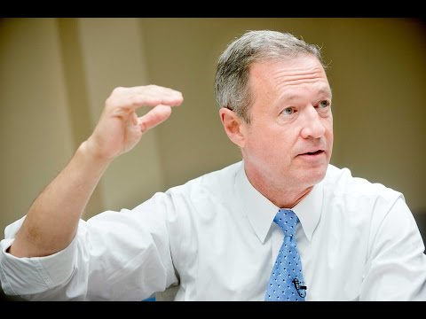 Full Video: Martin O'Malley Speaks to Sioux City Journal Edi