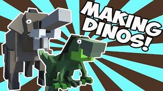 Hybrid Animals Dinosaurs! (Let
