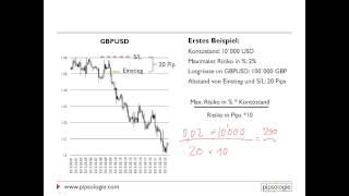 Forex Grundlagen - Risikomanagement - Video 2-4