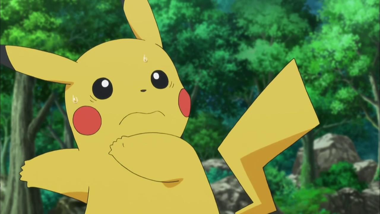 Pikachu Scared Www Imgkid Com The Image Kid Has It