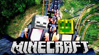 Minecraft SCHLIMMSTE ACHTERBAHN FAHRT meines LEBENS?!