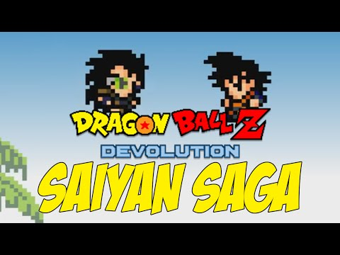 THE SAIYANS ARE ATTACKING!!! | Dragon Ball Z: Devolution (PART #1)