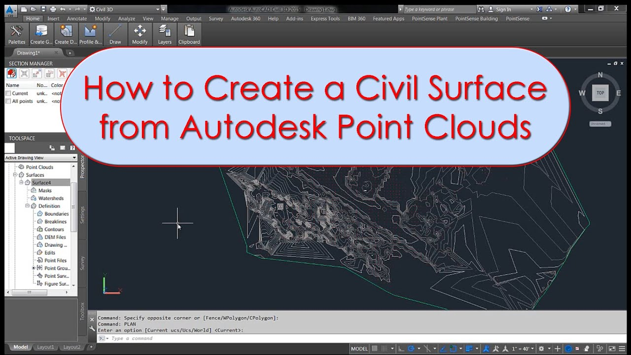 how to use autocad civil 3d
