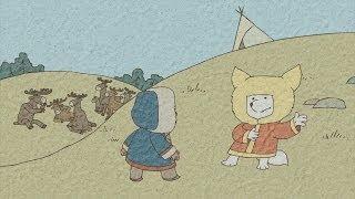 Гора самоцветов - Проделки лиса (Fox tricks) Хантская сказка