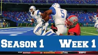 NCAA Football 14: Dynasty Mode [Ep. 2] - Kentucky Wildcats | Season Opener