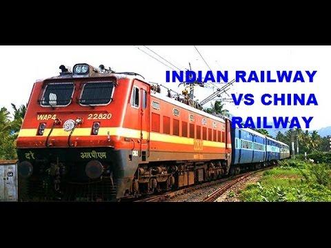 INDIAN RAILWAY VS CHINA RAILWAY