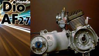 Как едет Honda DIO AF 27 с Китайской ЦПГ(, 2015-08-28T05:26:39.000Z)