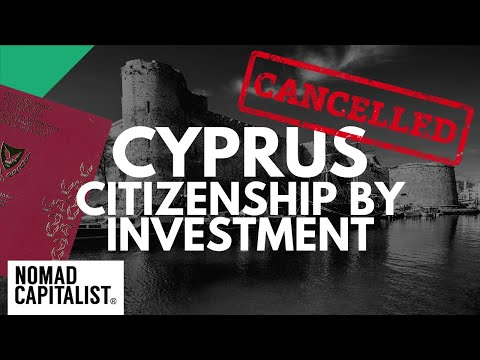 CANCELLED: Cyprus Citizenship by Investment