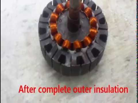 Ceiling Fan Coil Winding Youtube