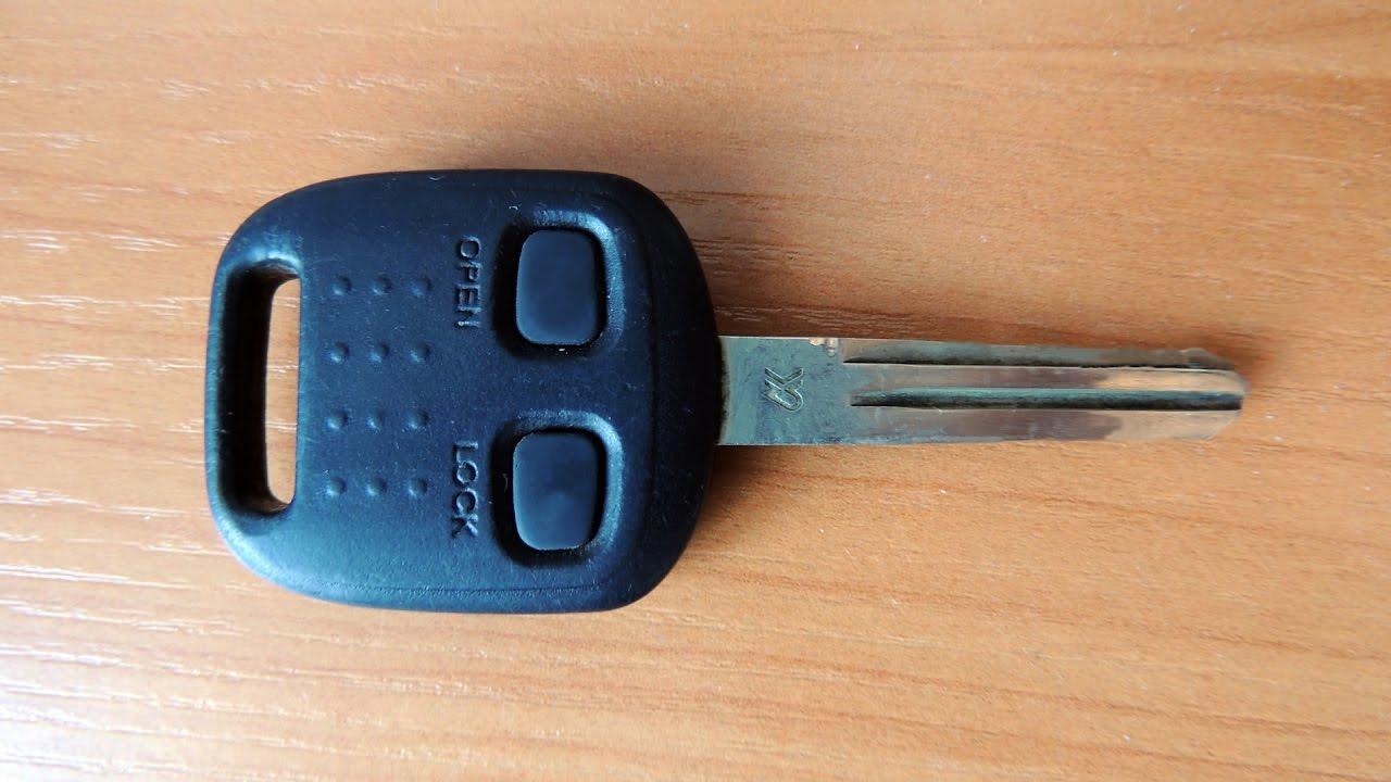 toyota прописать ключ центрального замка