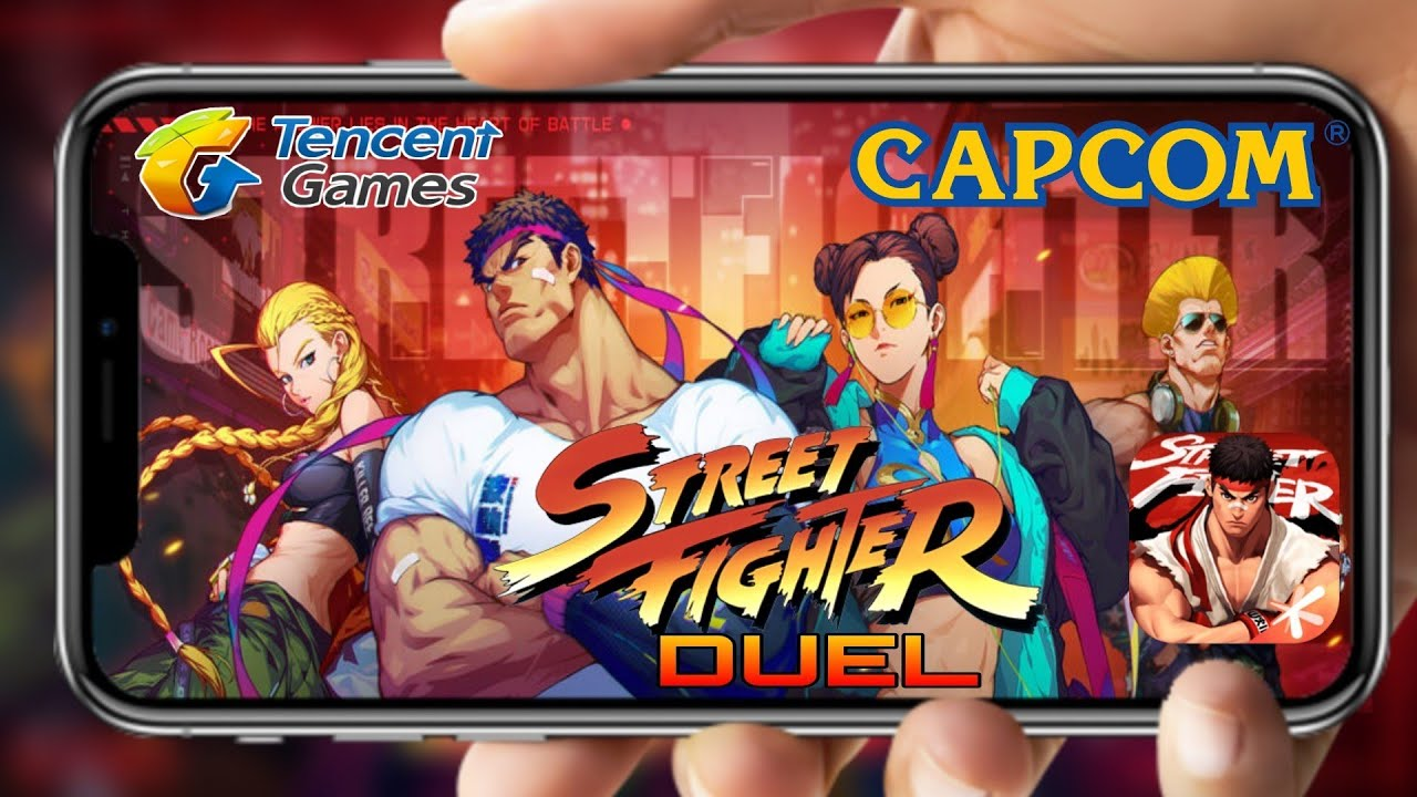 Street Fighter Duel - APK DOWNLOAD - GAMEPLAY - YouTube