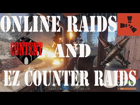 Rust | Duo Online Rocket Raid, Counter Raiding for Rockets, RIP Bradley (3/3)