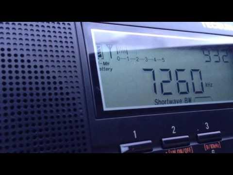 Radio Vanuatu 7260kHz (01 May 2016 0931UTC)
