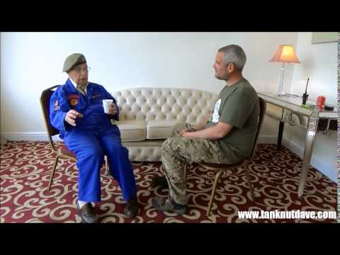Interview with a World War 2 M4 Sherman Tank Driver