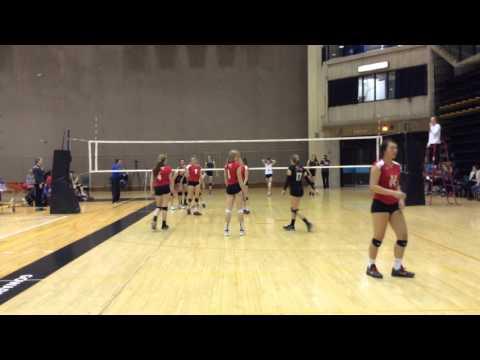 LVC 17U girls  vs E381- game 2