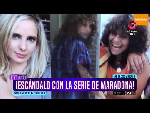 ¡Escándalo con la serie de Maradona!