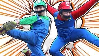 SUPER HOBO BROS || 100K SUB SPECIAL (A Mario In Real Life Action Comedy)