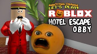 Roblox: Hotel Escape OBBY! [Annoying Orange Plays]
