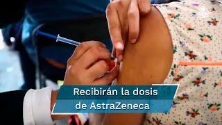 La jefa de Gobierno señaló que los adultos mayores de 60 años y más de Cuauhtémoc, Benito Juárez y Álvaro Obregón recibirán la dosis de AztraZeneca