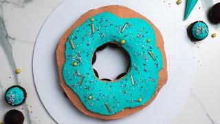 How To Make A Donut Pull Apart Cake- Rosie's Dessert Spot
