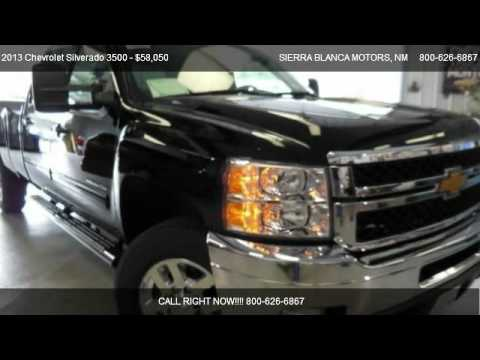2013 Chevrolet Silverado 3500 Ltz For Sale In Ruidoso