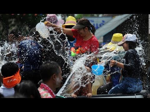 World's biggest water fight: Thailand celebrates New Year