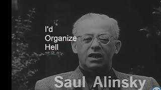 """""""I'd Organize Hell"""" - Saul Alinsky TV interview 1966"""
