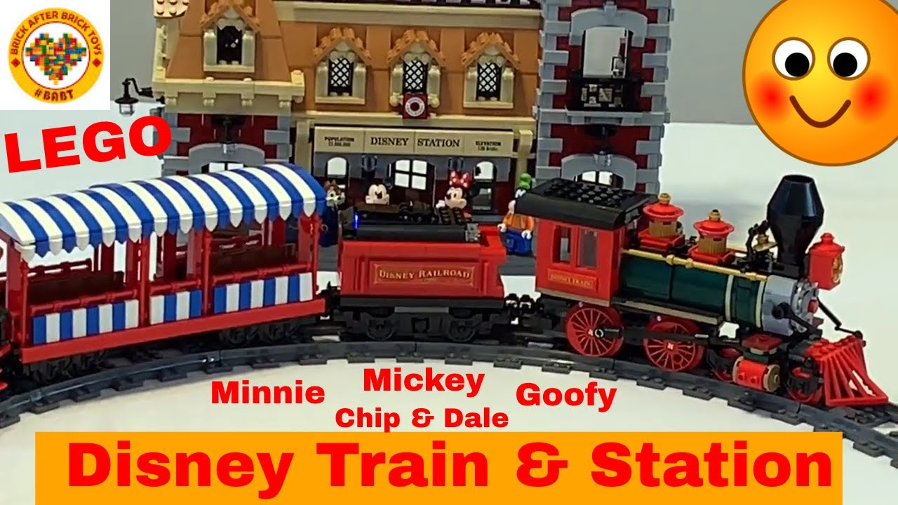 Lego Disney Train and Station Review 71044