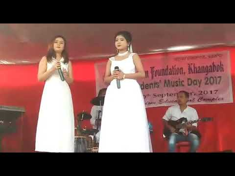 Pusparani and sandyarani song stage tumba chaba khangdana