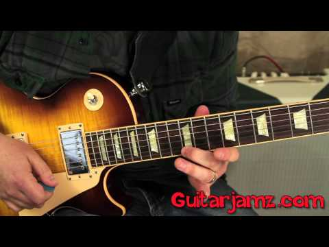 Slash  Godfather Theme  How to play on Guitar  Tutorial  Gibson Les Paul