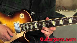 Slash - Godfather Theme - How to play on Guitar - Tutorial - Gibson Les Paul