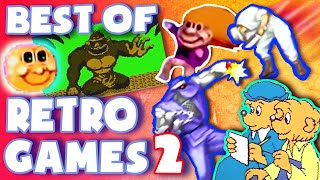 Best RETRO GAMES Moments! (Part 2) - Game Grumps Compilations