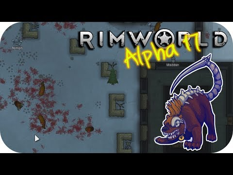Rimworld Alpha 17 – 22. Siege Shenanigans - Let's Play Rimworld Gameplay
